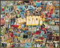 The SEVENTIES 1000 Piece Jigsaw Puzzle