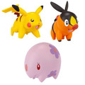 Pokemon Black & White Series Multipack Figures Munna Tepig and Pikachu
