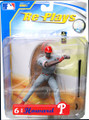 Rare MLB Series 1 REPLAYS Ryan Howard Philadelphia Phillies Action Figure