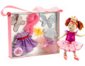 "Fancy Nancy 12"" Doll & Costume Tote Set"