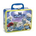 THE SMURFS 24 Piece Puzzle in Collectible Tin Lunch Box
