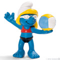 NEW Beach Volleyball Player Sports Smurf Figurine - Schleich