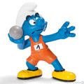 NEW Shotputter Sports Smurf Figurine - Schleich