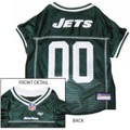 New York Jets NFL Dog Football Jersey Medium