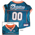 Miami Dolphins NFL Dog Football Jersey Medium