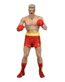 Neca Rocky IV IVAN DRAGO Battle Damaged 40th Anniversary Series 2 (Red Trunks) 7 inch Action Figure
