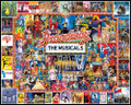 BROADWAY THE MUSICALS 1000 Piece Jigsaw Puzzle