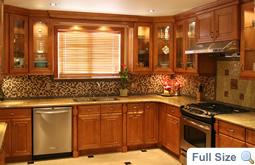 Honey Maple Kitchen