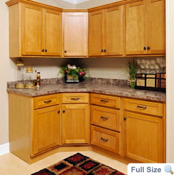 Oak Shaker Kitchen