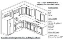 10X10 RTA Kitchen Set