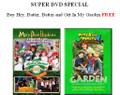 Super DVD Special -- Buy Hey, Batter, Batter and Get In My Garden FREE