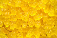 Gummy Bears Yellow Mango 20 lbs Case