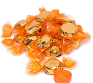 Hillside Hard Candy Orange Flavor 2.5 Lbs
