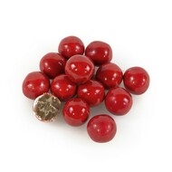 Red Sixlets 12 LBS CASE/ Candy Coated Chocolate