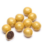 Sixlets Gold 12 LBS CASE/Candy Coated Chocolate