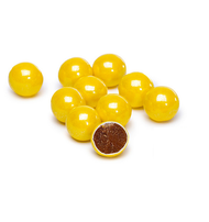 Sixlets Golden Yellow 14oz  Candy Coated Chocolate