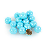 Sixlets Shimmer Powder Blue 12 LBS CASE/Candy Coated Chocolate