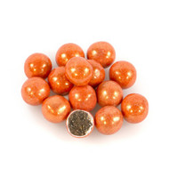 Sixlets Shimmer Orange 12 LBS CASE/Candy Coated Chocolate