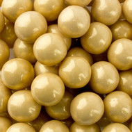 Gumballs Shimmer Pearl Gold 12 Pounds CASE