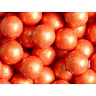 Gumballs  Shimmer Pearl Orange 2 Pounds