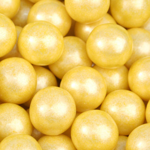 GumBalls Pearl Yellow 5 Pounds 282 pieces