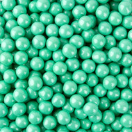 Sixlets Shimmer Turquoise 12 LBS CASE/ Candy Coated Chocolate