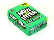 Now And Later Candy 12 Pack Case Watermelon