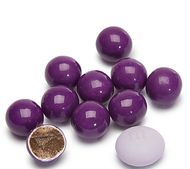 Sixlets Dark Purple 12 Pound CASE/Candy Coated Chocolate
