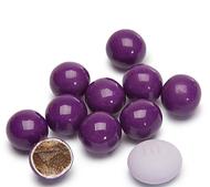 Sixlets Dark Purple 12 Pound CASE/Candy Coated Chocolate