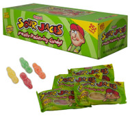 Sour Jacks Soft & Chewy Sour Candy 12 Pack Case