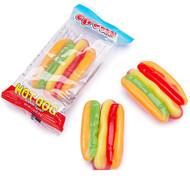 E.Frutti Gummi Hot Dog 8 pack Case