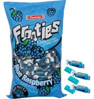 Tootsie Frooties Blue Raspberry 12 Bag Case