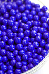 Sixlets Royal Blue Coated Chocolate 12LBS CASE
