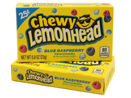 Chewy Lemonhead Blue Raspberry 1 Pack 24 units