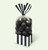 Candy Favor Bags 10 ct Black