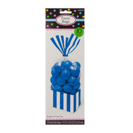 Candy Favor Bags 10 ct Royal Blue