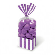 Candy Favor Bags 10 ct Purple