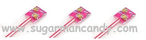 "Pink Giant Pixy Stix 14"" Long 12 Count"