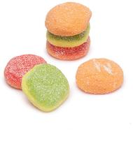 E.Frutti Sour Mini Burgers 1 pack 60 Count