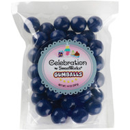 Gumballs Navy Blue 6 x 14 oz bags CASE