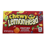 Chewy Lemonhead Fruit Mix Candy 12 Pack CASE