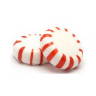 Peppermint Starlight Candy 31 Pounds Case Red&White