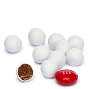 Sixlets White 12 Pound CASE /Candy Coated Chocolate