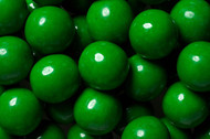 Gumballs Green 12 Pounds Bulk CASE