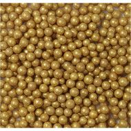 Pearl Beads Gold 2 LBS