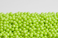 Pearl Beads Lime Green 12 LBS CASE