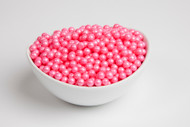 Pearl Beads Bright Pink 2 LBS