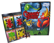 Creepy Gummi Candy 72 Count/ 1 PACK