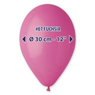 "Gemar Fuchsia Balloons 12""/10 count Pack"