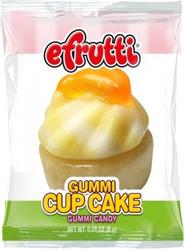 e.Frutti Gummi Cupcake Candy 8PK/CASE